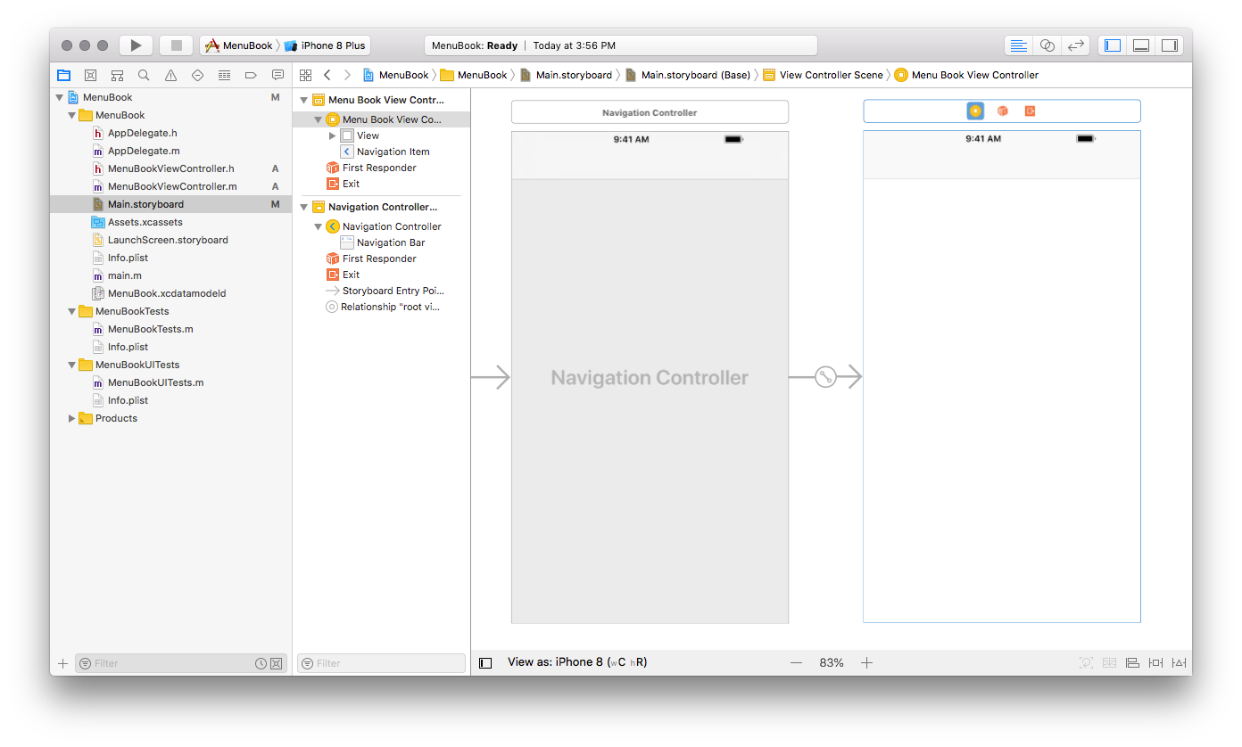 How to create table view using storyboard in iOS App?
