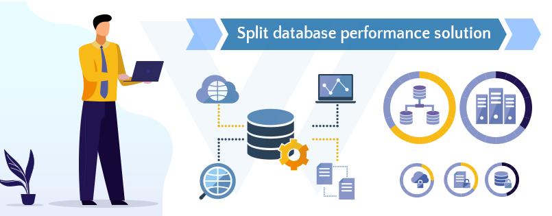 Split-database-performance-solution